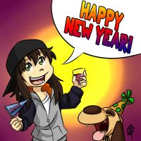 Happy New Year 2015 by LilBruno
