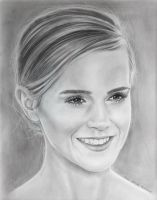 Emma Watson - Hermione from Harry Potter by Stefans-Artworks