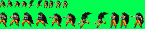 Sprite Stuff: Good Raditz (MasakoX What-If Series) by SXGodzilla