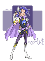 Male Cure Fortune by hielorei