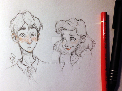 Paperman by itslopez
