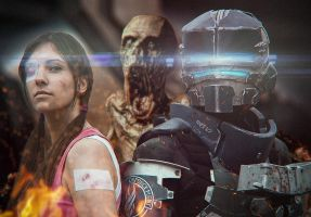dead space 2 cosplay 9 by easycheuvreuille
