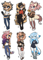 Adoptable Set 9 (CLOSED) by Snorechu