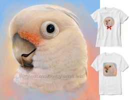 Goffin cockatoo by emmil