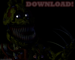 Nightmare Springtrap (Cinema 4D DOWNLOAD) by Boligonautas