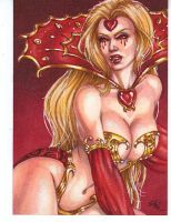 Blood Red Queen of Hearts by Dangerous-Beauty778