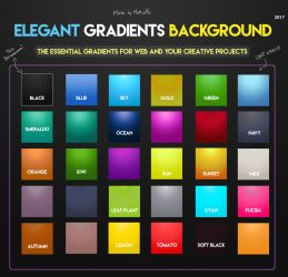Elegant Gradients Background 2017 by MattiaMc