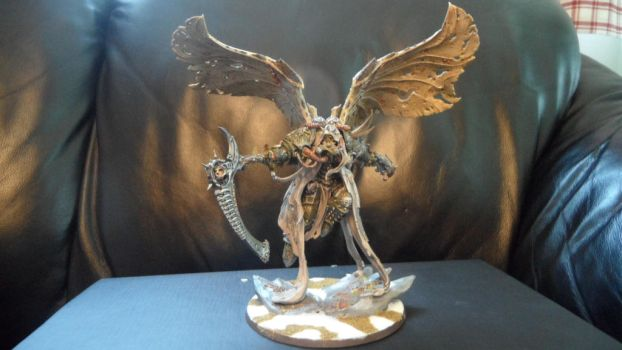 Mortarion, Daemon Primarch of Nurgle by Dible