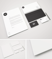 Freebie - Branding Stationery PSD Mockup by GraphBerry