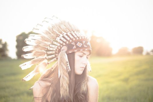 Me and my indian hat by graphictwister