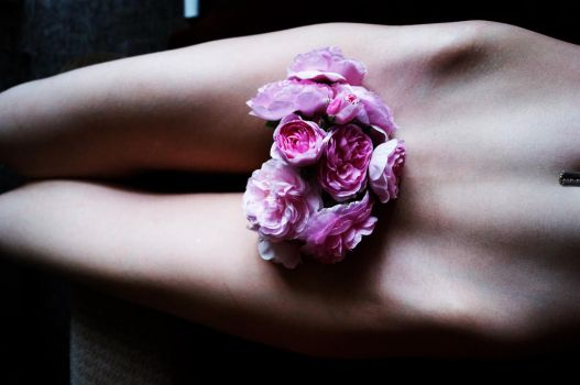 Where the wild roses grow by Lina-Poe