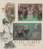 Blade Runner Sketches by Veritas93