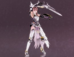 Lightning - Valkyrie's Dance - 01 by HentaiAhegaoLover
