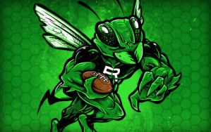 Roswell Hornets Mascot by thunderpeel