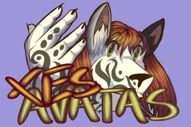 Badge - Xes Avatas the Terrain Wolf Mix by lastres0rt