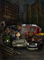 Traffic by kosha-bathia