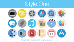 Stock Icons Style One by hamzasaleem
