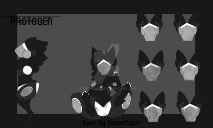 Static the Protogen Adopt SOLD by Darumemay