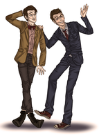Ten and Eleven by pikimomo