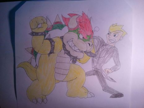 Bowser beat up his replacement  by BenorianHardback26