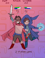 2 player game by kradmousey