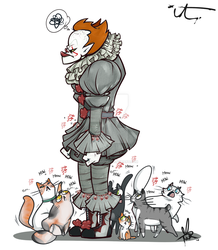 Pennywise's Jingly Outfit by tandemonium