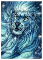 Lord of Starlight (ACEO) by Art-of-Sekhmet