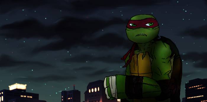 Say hi to Raph. by TurtleChix