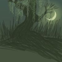 04 of 31 Spooky Trees by skelly-jelly