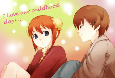 I love our childhood days... by peperobox
