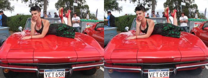 A corvette with Curves by 3DMG
