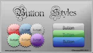 Button Styles by SavannaH09