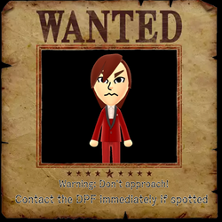 DPF Wanted Poster For Veloci by SusenM74