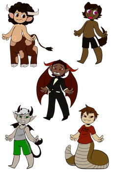 Souls adopts -SOLD- by RoseandherThorns