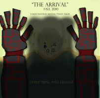'The Arrival' second poster by AirTyler