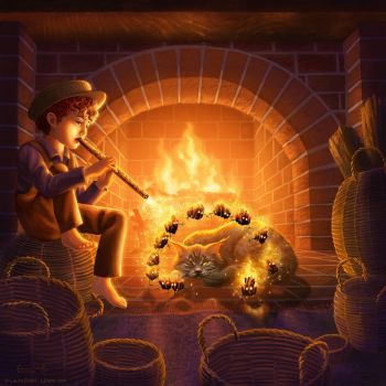 Firelight Piper by ldiehl