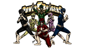 MMPR: Rise of the Dragon Ranger by kyomusha