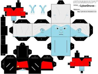 Cubee- Andorian Captain TNG by CyberDrone