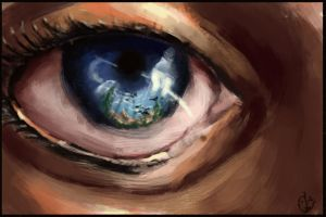 Speedpainting: The creative eye by IRCSS