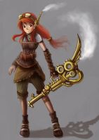 Steampunk Amelli by ns-wen
