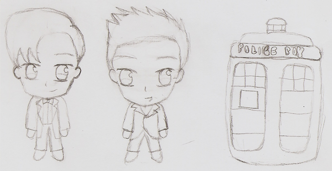 Chibi Doctor Who Pt 1 by Moon-Potato