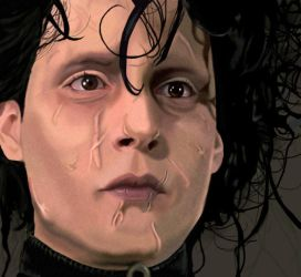 edward scissorhands by depp800