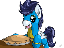 Soarin and pie (291) by Reaper3D
