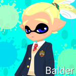 Balder, Skull's Father (Inkling Form) by Brightsworth-Heroes