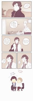Mr Holmes and Dr Watson by Nihui
