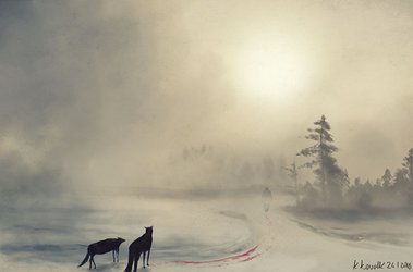 Blood On The Snow speed painting by krzysiekkowalik