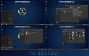 FBI SkinPack For Windows 7/8/8.1 by TheDhruv