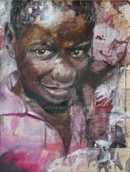 Collage and Oil Paintings by Ruth-Amy