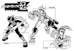 Rockman Zero 2 Manga : new arts by Tomycase