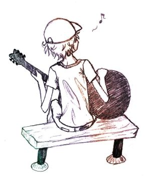 Guitar Boy by MentuSanarih